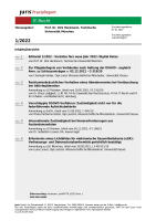 Abbildung: juris PraxisReport IT-Recht