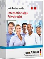Abbildung: juris PartnerModul Internationales Privatrecht